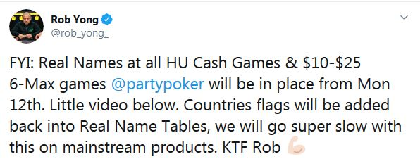 PartryPoker changes to Heads-up cash games