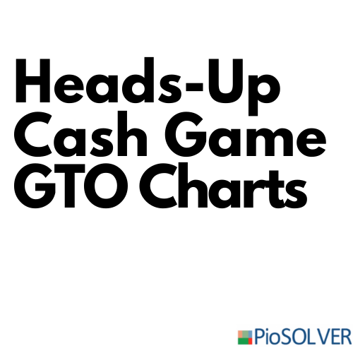 Heads-up cash game GTO charts